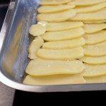 Kartoffel schichten