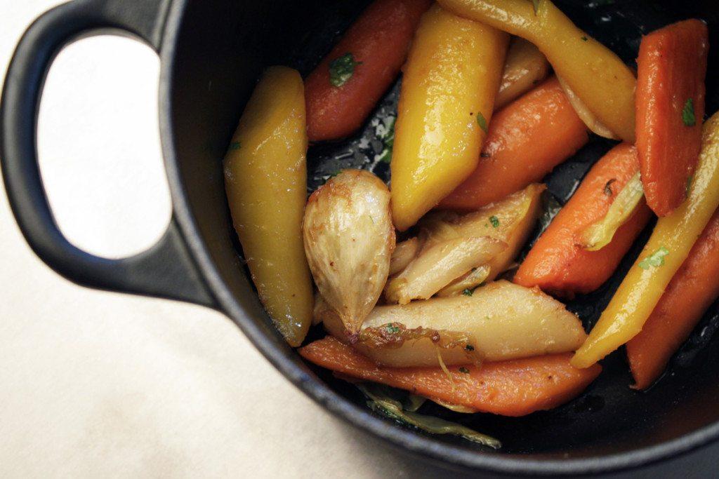 Gemüse im Cocotte