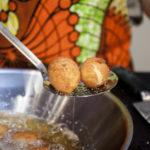 Coxinha frittieren