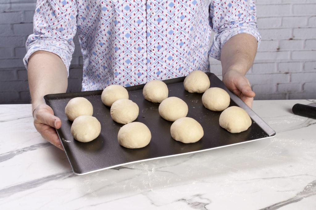 Vorgeformtes Brot
