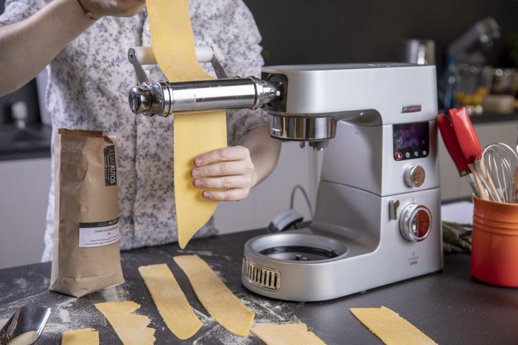 Pasta Teig duenn machen