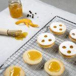 Orangen Pfeffer Linzer Augen
