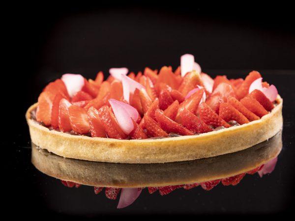Erdbeer Tarte | Foto (c) Julian Kutos