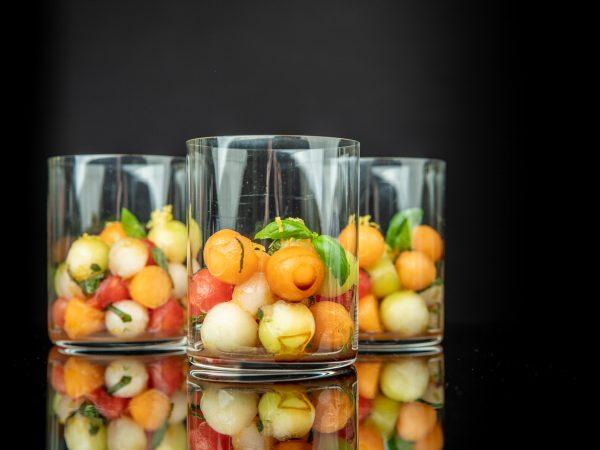Melonen Salat | Foto (c) Julian Kutos