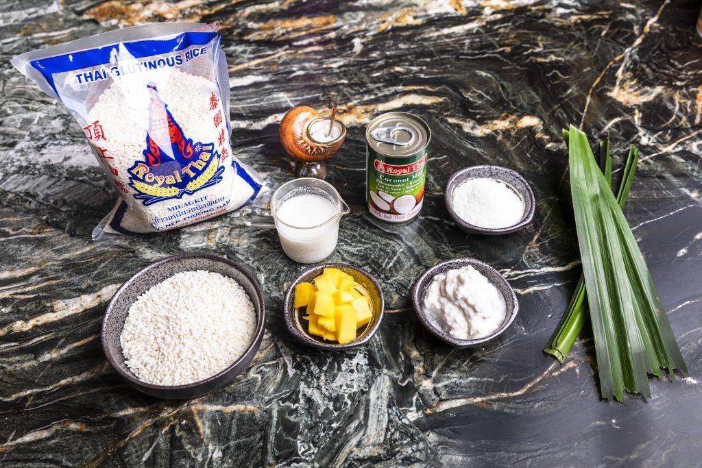 Zutaten Sticky Rice | Foto (c) Julian Kutos