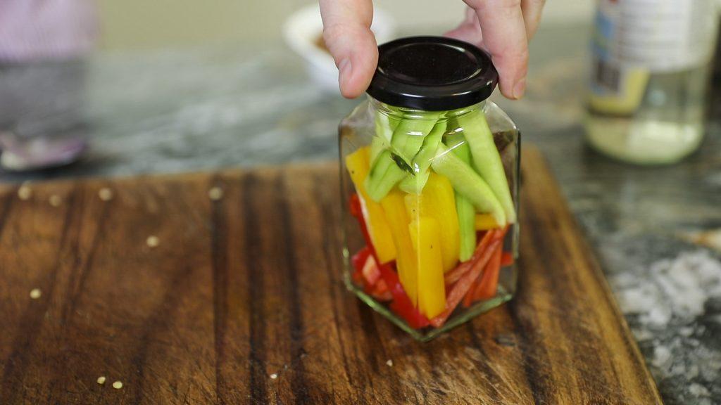 Banh Mi Eingelegtes Gemüse