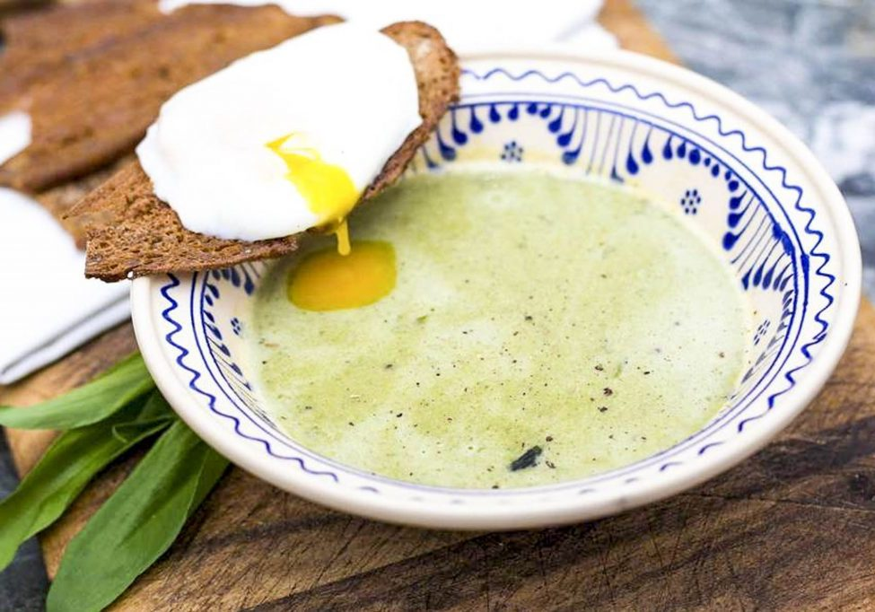 Baerlauch Suppe